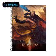 Caderno Diablo Kharazim 10 Matérias