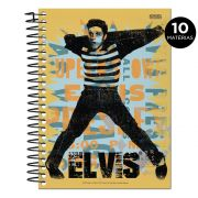 Caderno Elvis Presley The King Of Rock