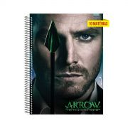 Caderno Green Arrow 10 Matérias