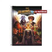 Caderno Hearthstone Exploradores 10 Matérias