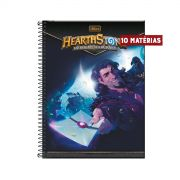 Caderno Hearthstone Karazhan 10 Matérias