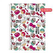 Caderno Hello Kitty Cupcake 10 Matérias