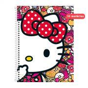 Caderno Hello Kitty Donuts 10 Matérias