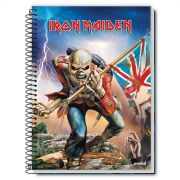 Caderno Iron Maiden The Trooper 1 Matéria
