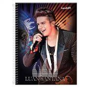 Caderno Luan Santana O Nosso Tempo é Hoje