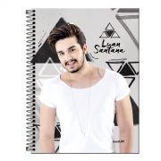 Caderno Luan Santana Picture 10 Matérias