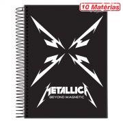 Caderno Metallica Beyond Magnetic 10 Matérias