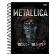 Caderno Metallica Through The Never 1 Matéria