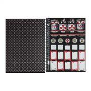 Caderno Resident Evil Umbrella Mask 10 Matérias