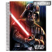 Caderno Star Wars Darth Vader 10 Mat�rias