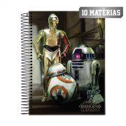Caderno Star Wars Droids 10 Mat�rias