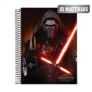 Caderno Star Wars Kylo Ren 10 Mat�rias