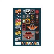 Caderno Star Wars Kylo Ren 1 Matéria