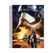 Caderno Star Wars Primeira Ordem 1 Matéria