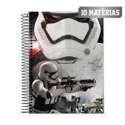 Caderno Star Wars Stormtrooper Fire 10 Mat�rias
