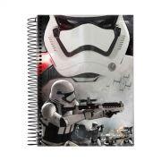 Caderno Star Wars Stormtrooper Fire 1 Mat�ria