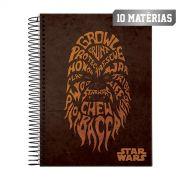 Caderno Star Wars Trends Chewie 10 Mat�rias