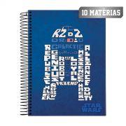 Caderno Star Wars Trends R2D2 10 Mat�rias