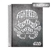 Caderno Star Wars Trends Stormtrooper 10 Mat�rias