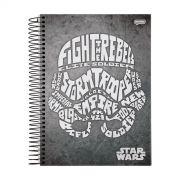 Caderno Star Wars Trends Stormtrooper 1 Mat�ria
