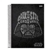 Caderno Star Wars Trends Vader 1 Mat�ria
