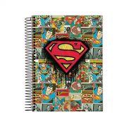 Caderno Superman Logo Quadrinhos 1 Matéria