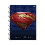 Caderno Superman Man of Steel Logo 1 Matéria