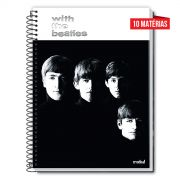 Caderno The Beatles With The Beatles 10 Matérias