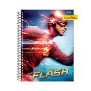 Caderno The Flash Running 10 Matérias