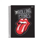 Caderno The Rolling Stones Black Logo 1 Matéria
