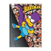 Caderno The Simpsons Bartman Brochura 1 Matéria