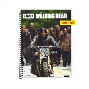 Caderno The Walking Dead Attracting The Zombies 10 Matérias