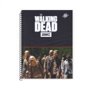 Caderno The Walking Dead Flooding Zombies 10 Matérias