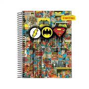 Caderno Triplo Logo Quadrinhos 10 Matérias
