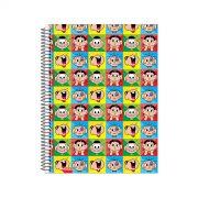 Caderno Turma da Mônica Pop Art 1 Matéria
