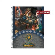 Caderno World Of Warcraft Aliança 10 Matérias
