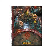 Caderno World Of Warcraft Horda 1 Matéria