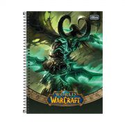 Caderno World of Warcraft Illidan 1 Matéria