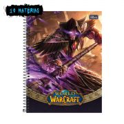 Caderno World of Warcraft Medivh 10 Matérias