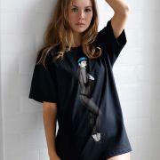 Camiseta Anitta Eu Faço Acontecer Front