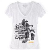Camiseta Devorê Feminina Saulo Oxente