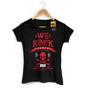 Camiseta Feminina 89FM A R�dio Rock We Rock Sampa Modelo 2