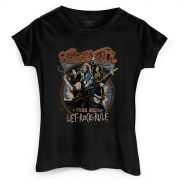 Camiseta Feminina Aerosmith Let Rock Rule Photo