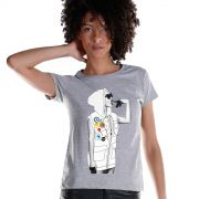 Camiseta Feminina Anitta Deixa a Onda te Levar
