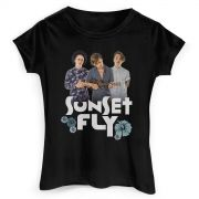 Camiseta Feminina Banda Fly Sunset Photo