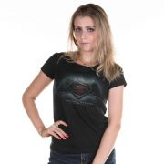 Camiseta Feminina Batman VS Superman Dawn of Justice