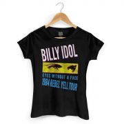 Camiseta Feminina Billy Idol Eyes Without a Face