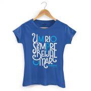 Camiseta Feminina Biquini Cavadão Rio e Mar