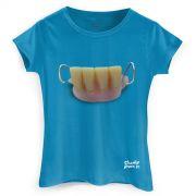 Camiseta Feminina Charlie Brown Jr. Bocas Ordin�rias