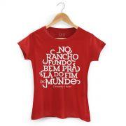 Camiseta Feminina Chitãozinho & Xororó No Rancho Fundo
